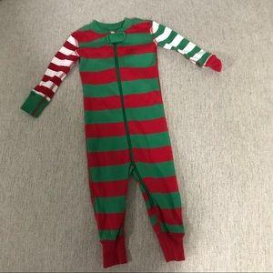 Hanna Andersson Zip Up Holiday Pajamas